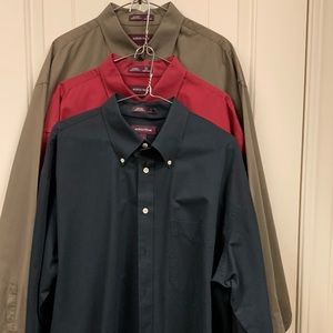 Get all 3! Nordstrom Smartcare button down shirts